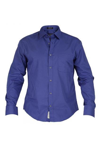 Trajes De Baño Azul Rey:Camisa Azzaro Azul Rey – Compra Ahora