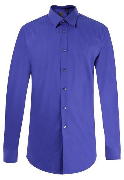 Trajes De Baño Azul Rey:Camisa Calvin Klein Azul Rey – Compra Ahora