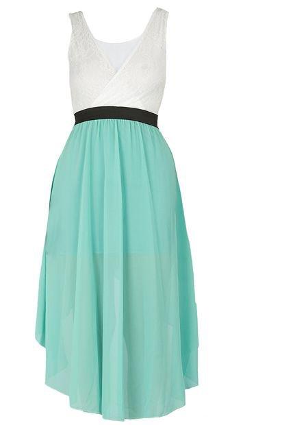 Vestidos De Baño Verde Menta:Vestido Lce Spirito Verde Menta-Blanco – Compra Ahora