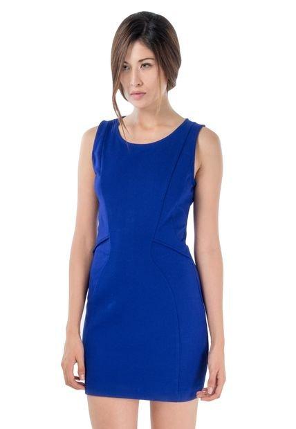 Vestidos De Baño Azul Rey:Vestido MNG Azul Rey – Compra Ahora