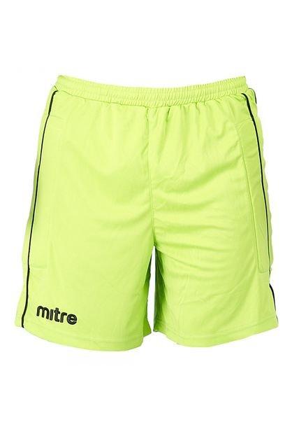 Ropas De Baño Verde Limon:Pantaloneta de Fútbol Mitre Goal 5 Verde Limón-Negro – Compra Ahora
