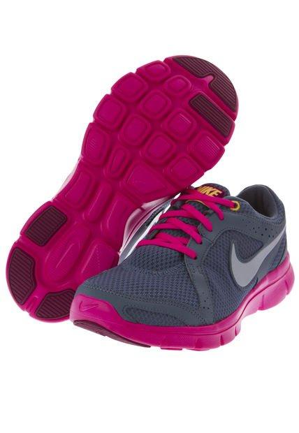 Nike Rosados Con Gris